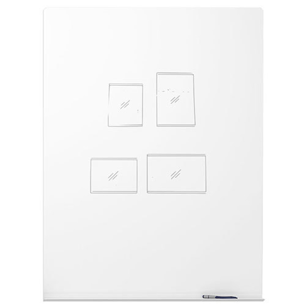 Peter Pepper MeetUp Dry Erase Whiteboards