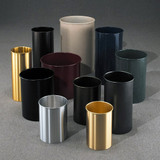 Glaro Open Top Waste Baskets - All Glaro Finishes