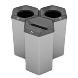 Peter Pepper HexBin Trash Cans