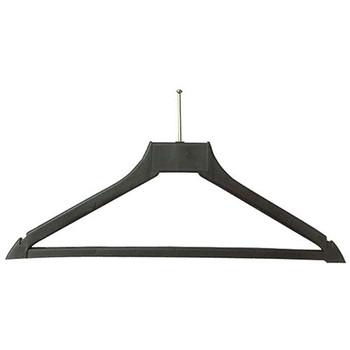 Camden-Boone Ball-Top Anti-Theft Polymer Coat Hanger with Trouser Bar - 112-001