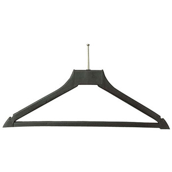 Camden-Boone Ball-Top Anti-Theft Polymer Coat Hanger with Trouser Bar - 112-001