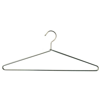 Camden-Boone Chrome Steel Extra Heavy Duty Coat Hanger with Open Hook - 117-002