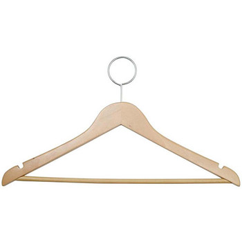 Camden-Boone Wood Closed Loop Coat Hanger with Trouser Bar - 115-003