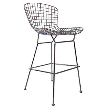 Woodstock The Who High Bar Stool - Side Angle View