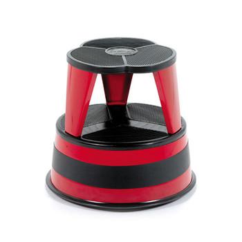 Cramer Kik Step - Red - Rolling Step Stool - 1001-43