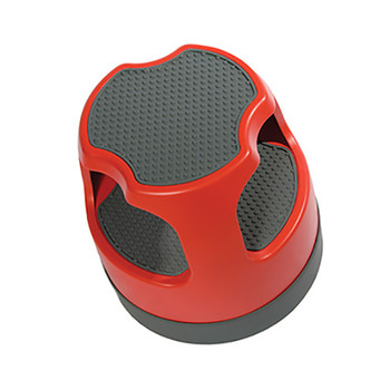 Overhead View of Cramer Scooter Step Stool in Red -50011PK-43