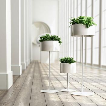 Magnuson Green Cloud Standing Planters - Hallway
