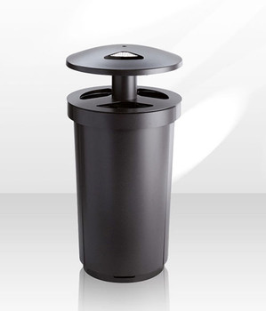 Magnuson Mecora Outdoor Ash and Waste Receptacle - MECORA-90