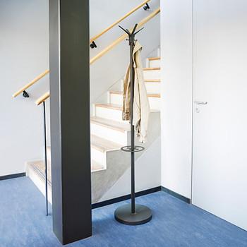 Magnuson Paladino Coat Tree by Stairs