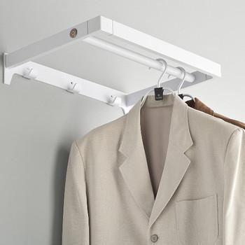 Magnuson Arnage Wall-Mounted Coat Rack PC-M - In Use