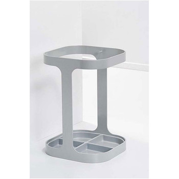 Magnuson Drip Umbrella Holder Finished in Gray RAL 9006