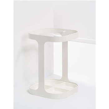 Magnuson Drip Umbrella Stand Finished in White RAL 9010