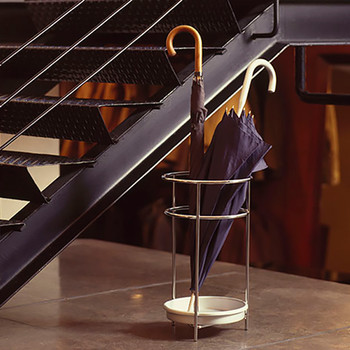 Magnuson Platea Umbrella Stand by Stairs