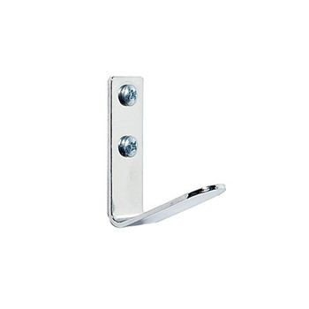 Magnuson K-71C Steel Coat Hook finished in Chrome