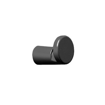 Magnuson Front Mount Coat Knob K50NFM in Black Finish