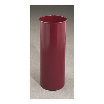Mount Everest Trash Can, 9 x 23, 7 Gallon - 922, finished in Burgundy