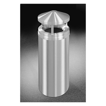 Glaro New Yorker Canopy Top Trash Can H1501SA