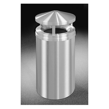 Glaro New Yorker Canopy Top Trash Can H2001SA