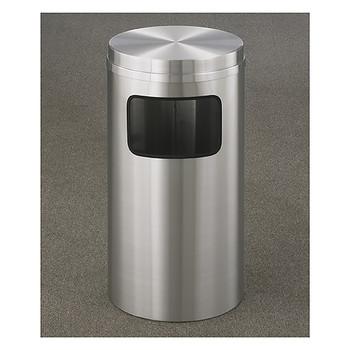Glaro New Yorker Flat Top Trash Can C1566SA