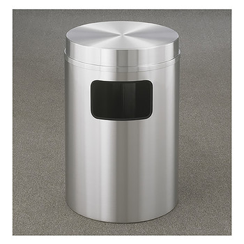 Glaro New Yorker Flat Top Trash Can C2066SA