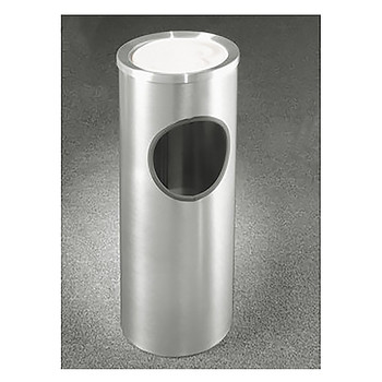 Glaro New Yorker Sand Top Ashtray and Trash Can 192SA