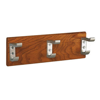 Camden-Boone Unlimited Wall-Mounted Wood Panel Coat Hook Rack 128-100