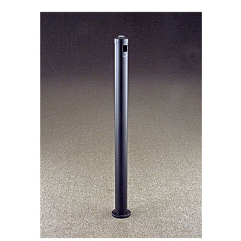Glaro Surface-Mount Smoking Post 2406 finished in Satin Black