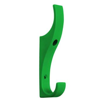 Camden-Boone Unbreakable Dark Green Nylon Coat Hook - Double Prong - 122-009