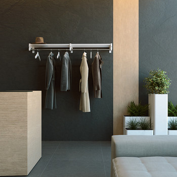 Magnuson DS Coat Rack - Wall Mounted - Reception - Model Shown: DS-5H with Middle Bracket