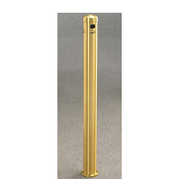 Glaro Smokers Pole 4404BE - In-Ground Mount - Satin Brass