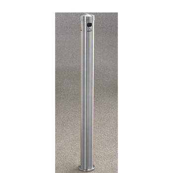 Glaro Smokers Pole 4404SA - In-Ground Mount - Satin Aluminum