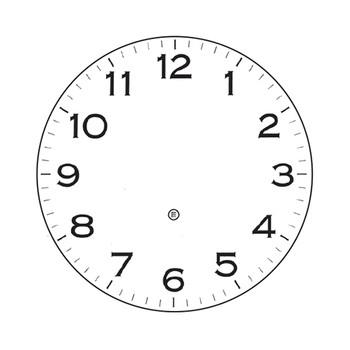 Peter Pepper Clock Face 32