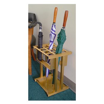 Glaro Combination Umbrella Rack 1690BE in Use