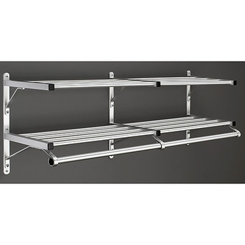 Glaro Wall-Mounted Coat Rack 502SA with Middle Bracket