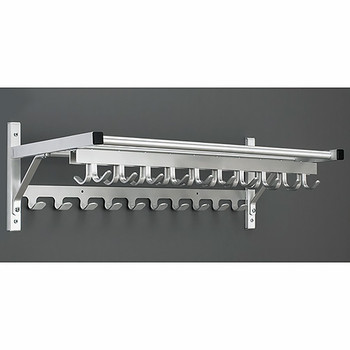 Glaro 9000CSA Coat Rack with Coat Hook Strips