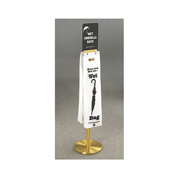 Glaro Umbrella Bag Stand FVBS11BE with Optional Sign