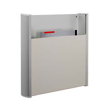 Peter Pepper 4121-QS Magazine Rack - Wall Mount