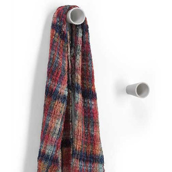 Magnuson BAMBU-06 Small Plastic Hook - 1-3/8 Inch Diameter Clothing NOT included, but are used to show scale Coat knobs are sold individually.