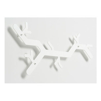 Magnuson TreeHooked Coat Rack TREE-WH - Wall Mounted - Steel - White