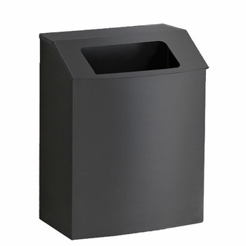 Peter Pepper Model IC-T Steel Trash Can with Hinged Open Top