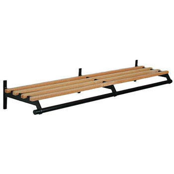 Camden-Boone Unlimited Coat Rack 102-084 - Wood - Wall Mount - Hanger Rod - 84 Inches