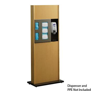 Peter Pepper ICF-2 Sanitation Station - Freestanding