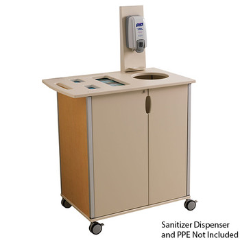Peter Pepper Mobile Infection Control and Prevention Cart ICM-1