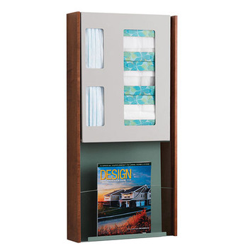 ICP-1M Peter Pepper HealthFIRST Infection Control - Hygiene Station - Wall Mounted - Magazine Rack