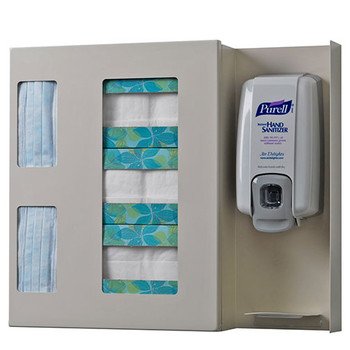 Peter Pepper HealthFIRST Infection Control - Hygiene Station ICP-2-QS - Quick Ship - Wall Mounted