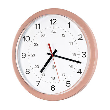 Peter Pepper 843P Custom Wall Clock - 14 Inch Diameter