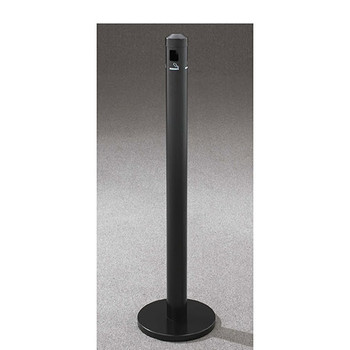 Glaro Smokers Pole 2403BK in Satin Black