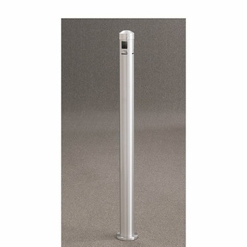 Glaro 2404SA Smokers Pole - In-Ground-Mount - Satin Aluminum