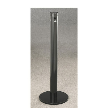 Glaro Smokers Pole 4403BK - Free Standing - Satin Black