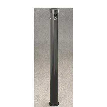 Glaro Smokers Pole 4406BK - Surface Mount - Satin Black